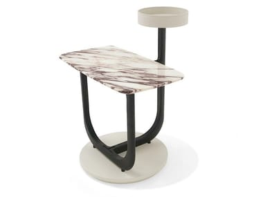 Rectangular marble coffee table AMIRAL | Rectangular coffee table