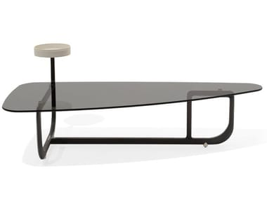 Triangular crystal coffee table AMIRAL | Triangular coffee table