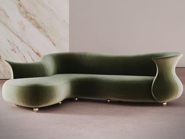 Curved sofa AMPHORA CORNER