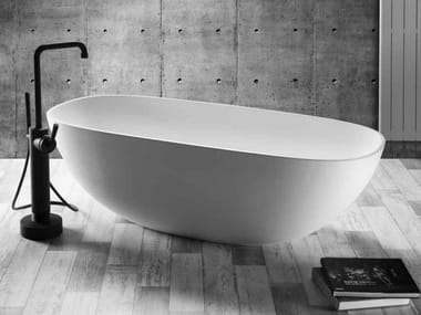 Freestanding oval bathtub AMSTERDAM