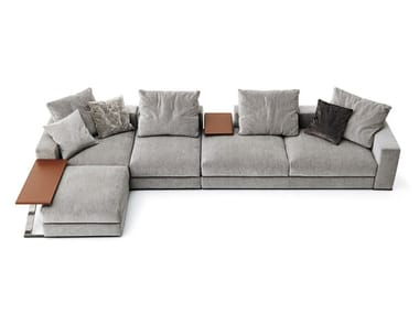 Sectional fabric sofa with removable cover ANANTA CLASS