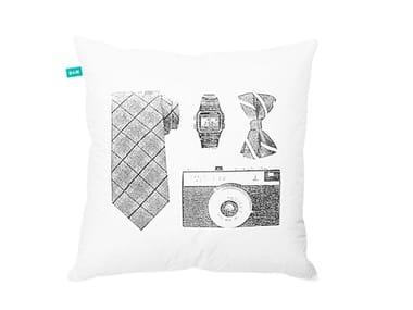 Almofada quadrada de algodão para cadeira ANAS