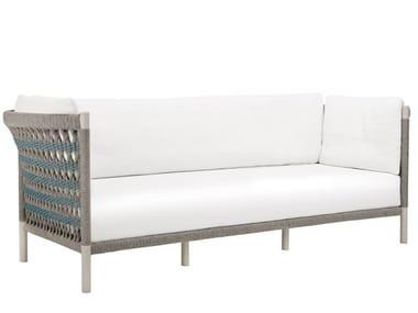 3 seater olefin rope sofa ANATRA | Sofa