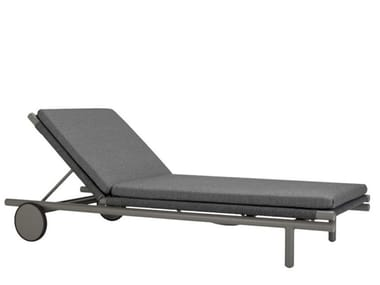 Aluminium and olefin rope sun lounger ANATRA | Sun lounger
