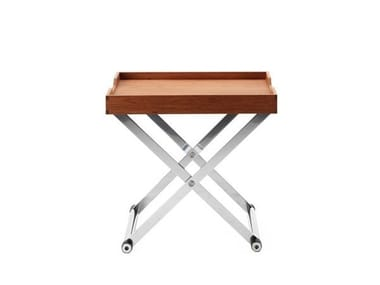Rectangular coffee table with tray ANDREA+