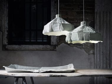 Lampada a sospensione in ceramica ANEMONE | Lampada a sospensione
