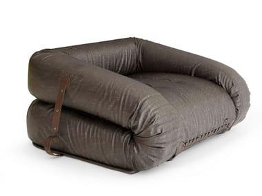 Fabric armchair ANFIBIO | Armchair