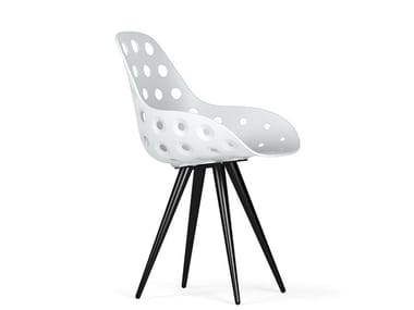Polypropylene chair ANGEL CONTRACT DIMPLE