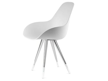 Chair KUBIKOFF - ANGEL DIMPLE CLOSED White