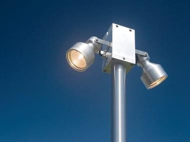 Halogen stainless steel street lamp ANGEL FL2