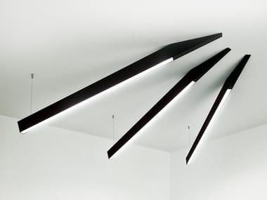 Lampada da soffitto a LED in alluminio ANGLE BEAM