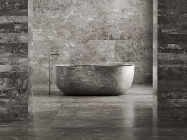 Freestanding marble bathtub ANIMA   Bathtub