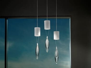 Direct light metal pendant lamp ANIMA S1