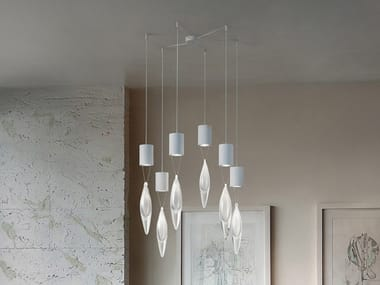 Metal chandelier ANIMA S6