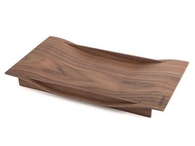Rectangular walnut tray ANIMA | Walnut tray