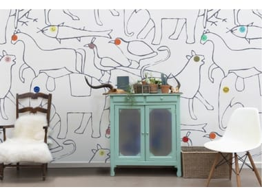 Motif wallpaper ANIMALS