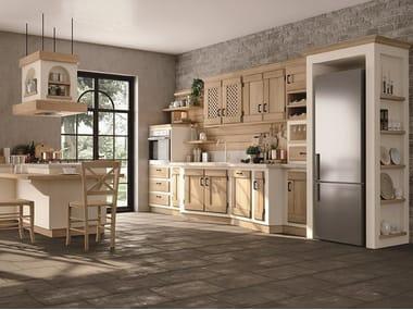 Kitchen with handles ANITA
