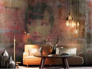 Contemporary style fabric wallpaper ANNA MAY