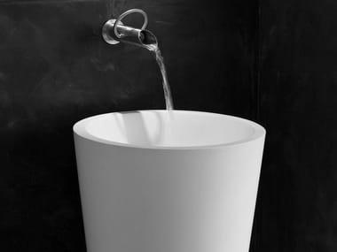 Freestanding round washbasin ANNELLI