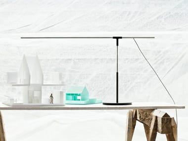 LED direct light metal table lamp ANTENNA