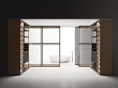 Partition system / walk-in closet ANTIBES