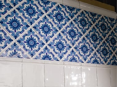 Indoor red-paste wall tiles ANTIC   Ceramic wall tiles