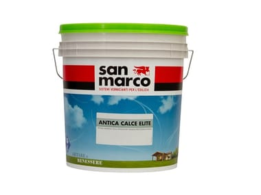 Water-based breathable decorative painting finish with brushed effect ANTICA CALCE ELITE