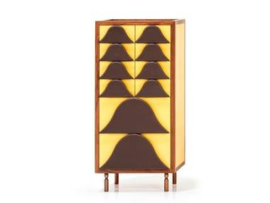 Cassettiera in legno ANTIGUA | Cassettiera