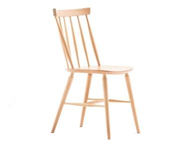 Stackable beech chair ANTILLA A 9850