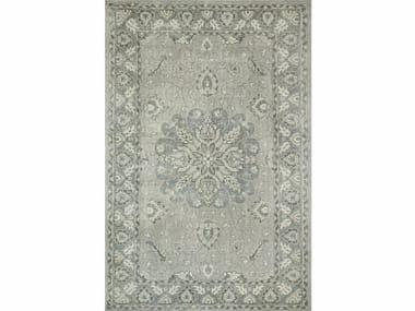 Wool rug ANTIQUE PKWL-6202 Ashwood/Medium Gray