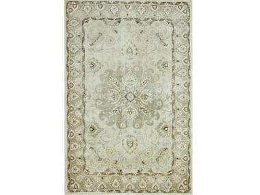 Wool rug ANTIQUE PKWL-6202 Cloud White/SilverGray