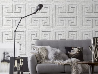 Washable vinyl wallpaper ANTIQUE TIN TILES (007) | Wallpaper