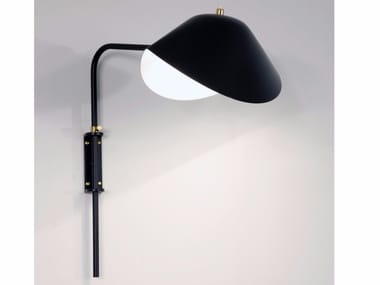 Direct-indirect light adjustable wall light ANTONY