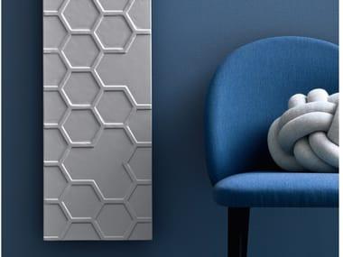 Vertical Livingstone® panel radiator APEROSO