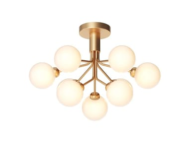 Blown glass ceiling lamp APIALES 9 | Ceiling lamp
