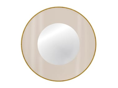Round wall-mounted mirror APOLLO