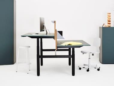 Height-adjustable office workstation APOLLO | Office workstation
