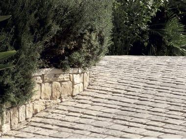 Pavimento per esterni in pietra APPIA ANTICA BOTTICINO