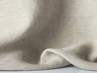 Solid-color linen fabric for curtains APRIL