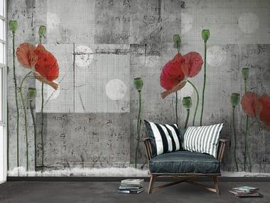 Papel de parede panorâmico de flores APRIL