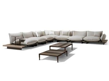 Corner modular garden sofa APSARA | Garden sofa