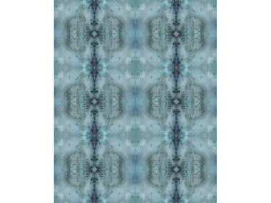 Leather rug AQUA