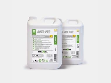 Acqua-vernice eco-compatibile per il trattamento di parquet AQUA-PUR