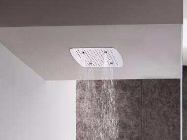 Contemporary style built-in stainless steel rain shower AQUA SENSE | Rain shower