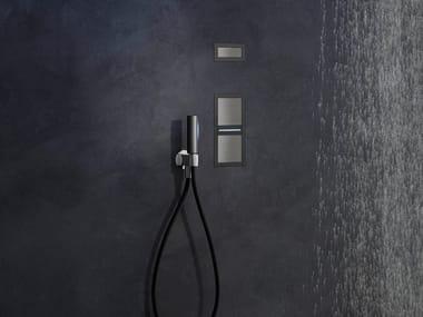 Comando miscelatore ad incasso filo-muro con luce AQUALITE | Comando remoto a muro