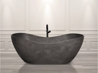 Freestanding Cristalplant® bathtub AQUAMAR