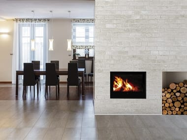 Wood-burning Boiler fireplace AQUAMAXI 28