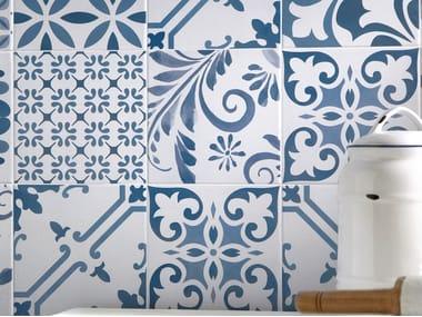 Revestimiento de pared/suelo de gres porcelánico esmaltado AQUAREL