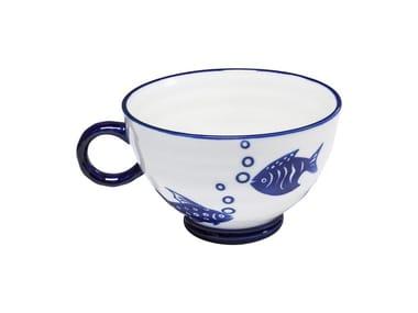 Porcelain stoneware mug AQUARIUM | Mug