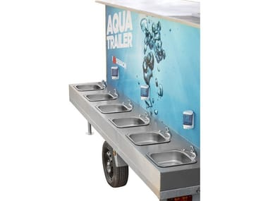 Portable hand-basins AQUATRAILER